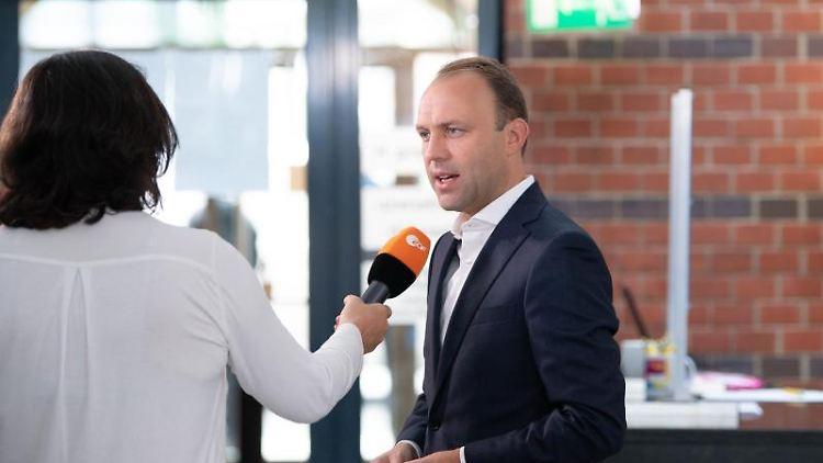 FDP-Fraktionschef Sebastian Czaja. Foto: Sebastian Kahnert/dpa-Zentralbild/dpa