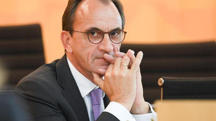 Michael Boddenberg (CDU), Finanzminister des Landes Hessen. Foto: Arne Dedert/dpa/Archivbild