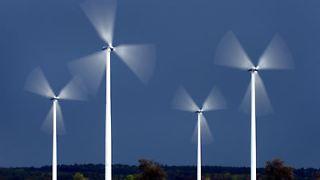 Die Masse macht's: Heute werden mehrere Winkraftanlagen zu Windparks zusammengefasst.