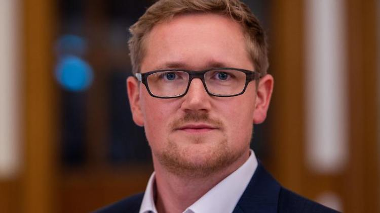 David Wulff, Generalsekretär der FDP in Mecklenburg-Vorpommern. Foto: Jens Büttner/dpa-Zentralbild/dpa/Archivbild