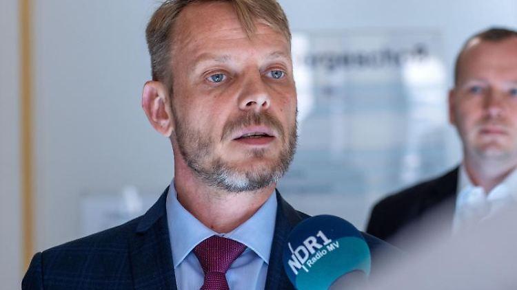 Nikolaus Kramer, Fraktionsvorsitzender der AfD im Landtag von Mecklenburg-Vorpommern. Foto: Jens Büttner/dpa-Zentralbild/dpa/Archivbild