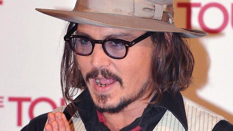 Johnny Depp hadert mit der Mediengesellschaft.