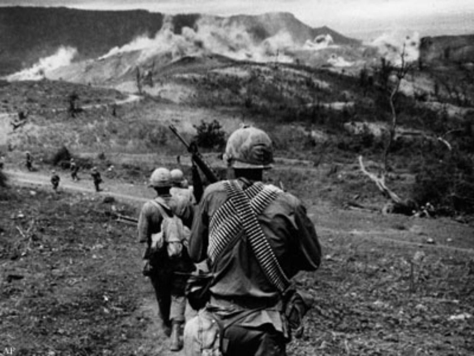 Die Soldaten der 11. US-Brigade kommen am Morgen und ihr Auftrag ist unmissverständlich: