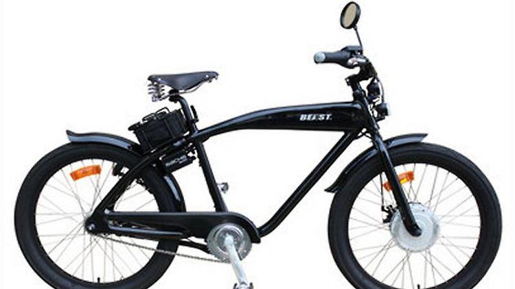 Uriges «Beast» zum Geburtstag:Der Zweiradhersteller Sachs wird 125 und hat deshalb ein Sondermodell mit Elektroantrieb gebaut. (Bild: Sachs/dpa/tmn)