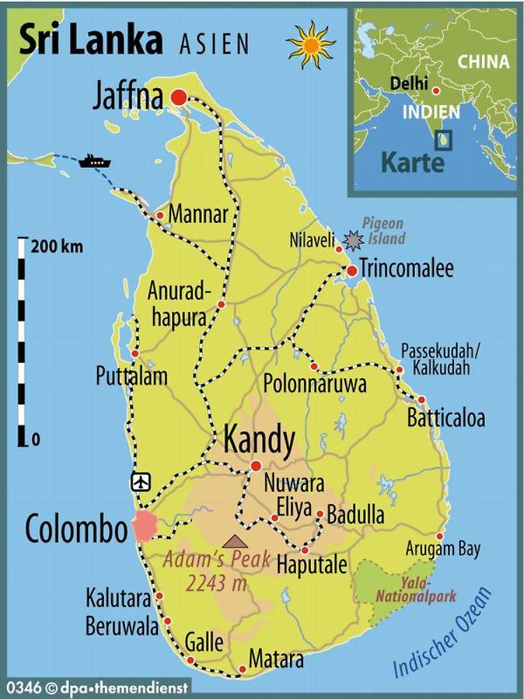 Sri Lanka Karte Zum Drucken.Die Ruhe Vor Dem Goldrausch Sri Lankas Ostküste Erwacht N Tv De