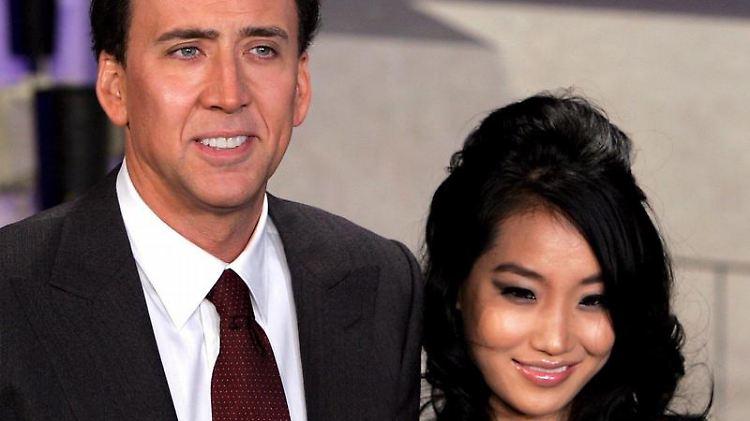 Soll sich in einem Taxi mit seiner Frau Alice Kim laut gestritten haben: Nicolas Cage. (Archivbild)