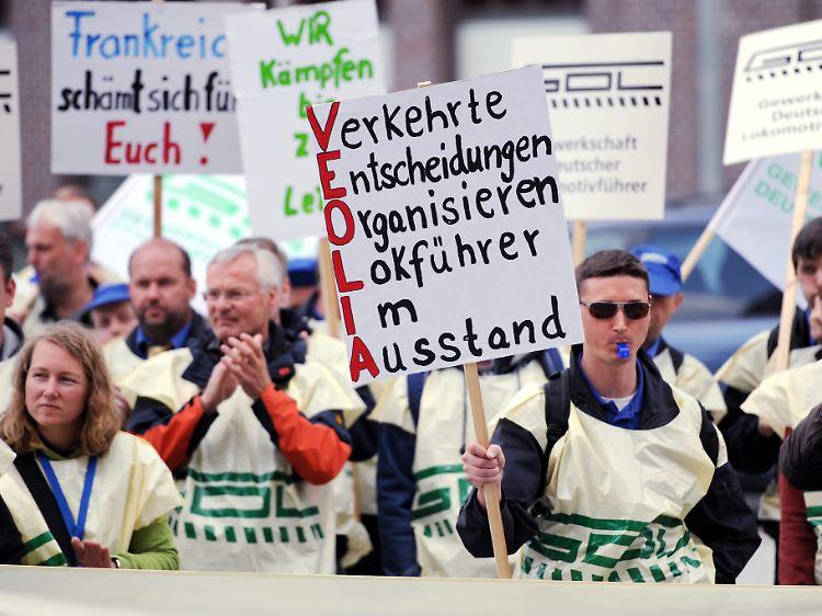 Gdl Streik Ankündigung