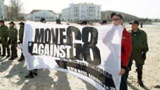 Die Proteste begannen bereits vor dem Gipfel.