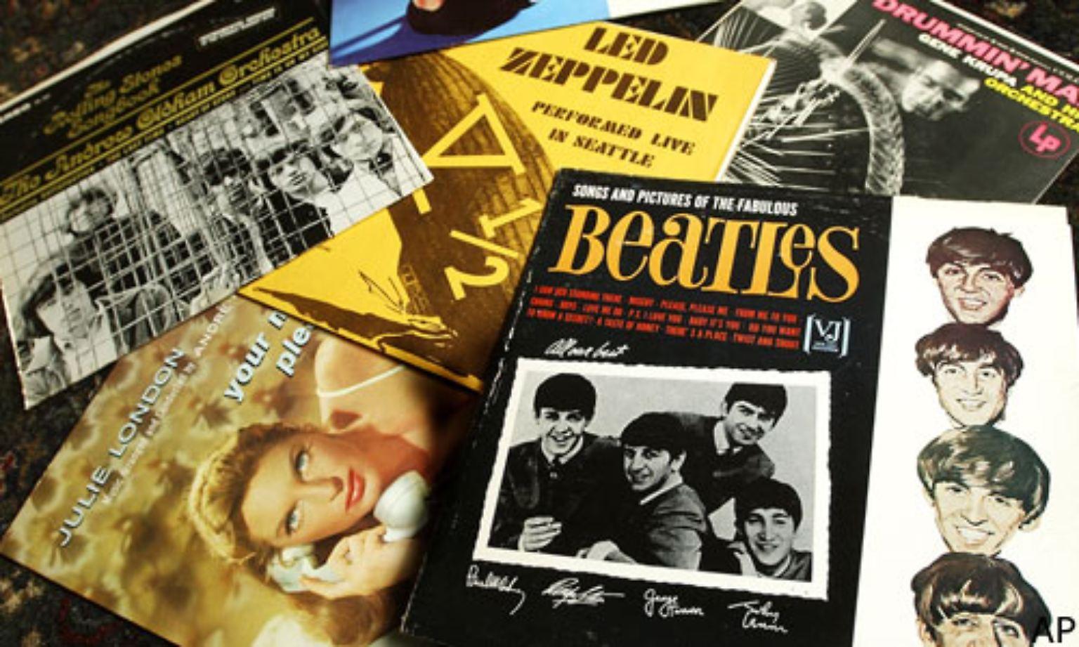 Haben Sie noch Schallplatten?