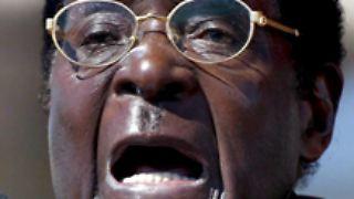 Will und will nicht weichen - koste es, was es wolle: Robert Mugabe.