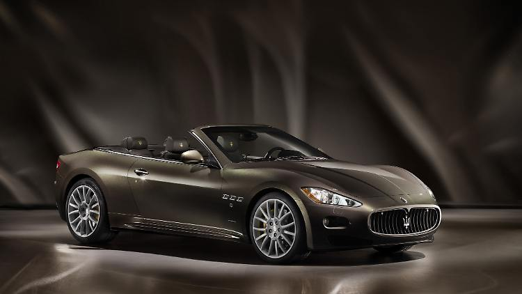 maserati grancabrio fendi: exklusives made in italy - n-tv.de