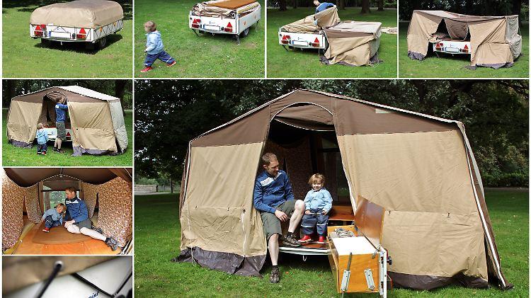 Camping Anhänger Treu Foto Fotokunst Kunst