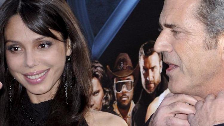 Mel Gibson und seine Ex-Freundin Oksana Grigorieva streiten vor Gericht.