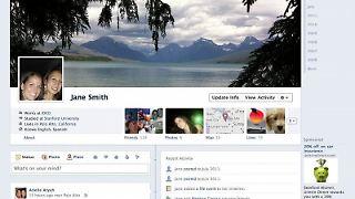 Screenshot eines überarbeiteten Facebook-Nutzerprofils. (Foto:Facebook)