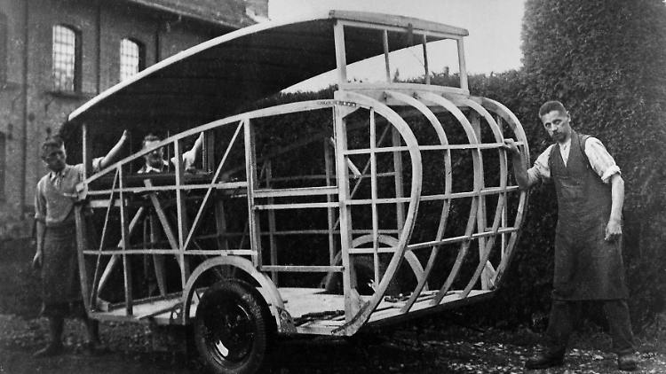 Der erste Wohnwagen: Das