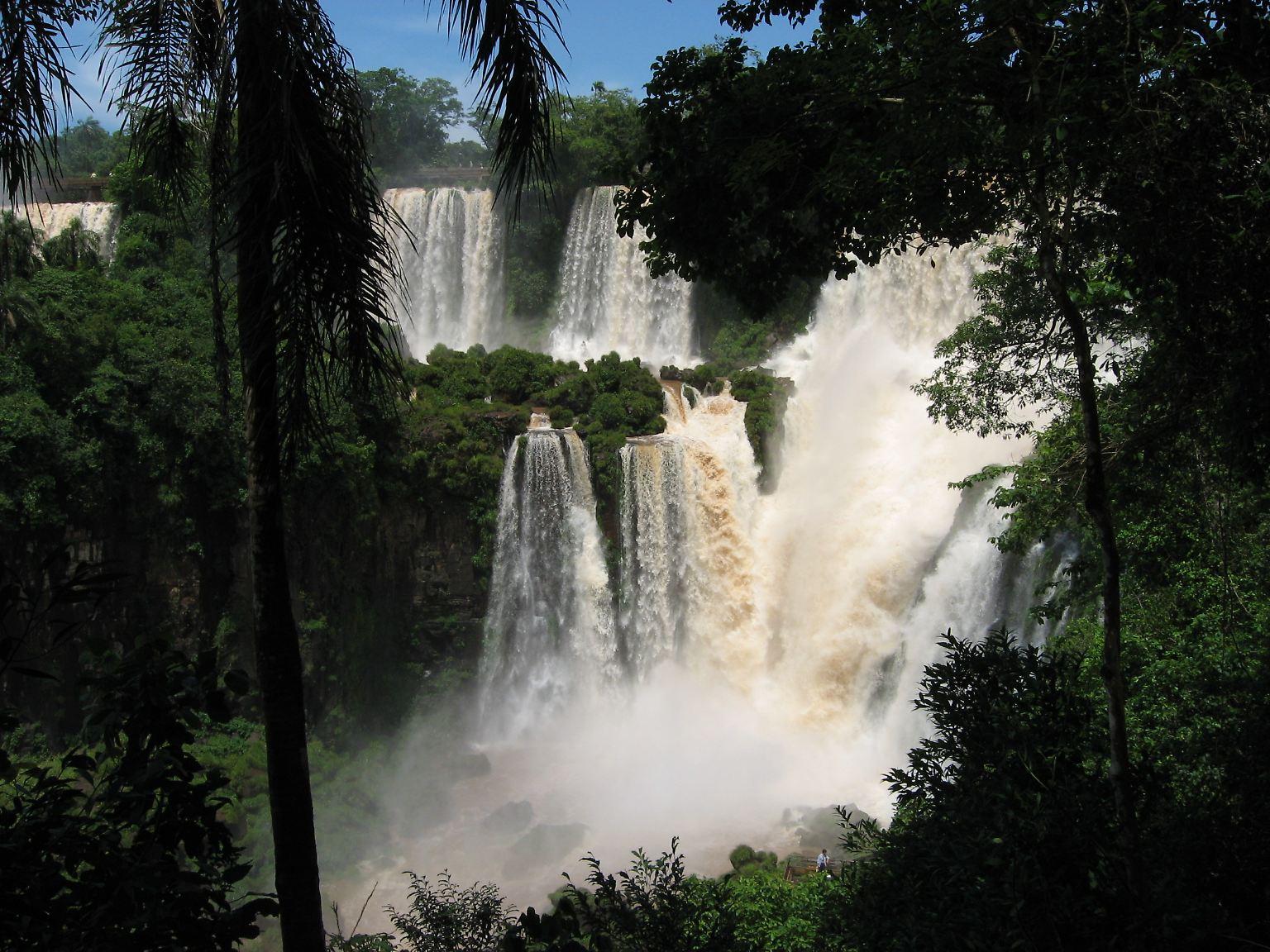 Iguazu Großes Wasser Der Größte Wasserfall Der Welt N Tvde