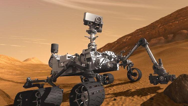 Start Geglückt Curiosity Fliegt Zum Mars N Tvde