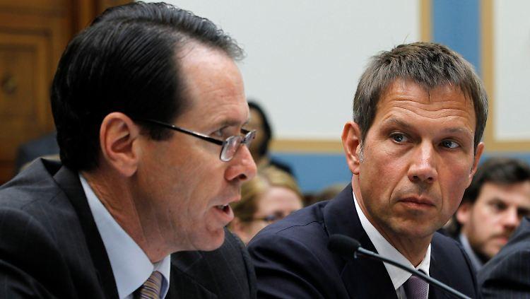 Anhörung in Washington: Im Mai reiste René Obermann persönlich an, um Bedenken gegen den Verkauf auszuräumen.