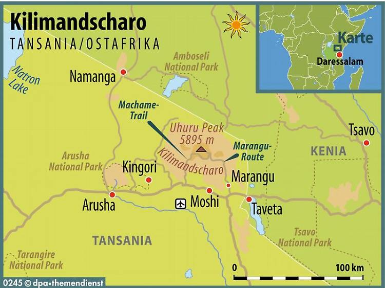 Zu Fuss Auf Das Dach Afrikas Trekking Am Kilimandscharo N Tv De