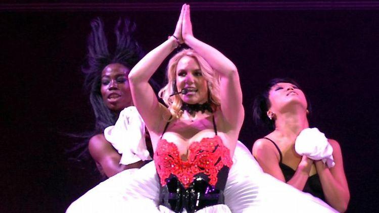 Britney Spears als «Femme Fatale» in Mexiko. Foto: STR