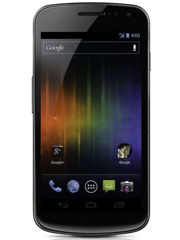Android-Purist mit Super-Display: Galaxy Nexus trumpft ...