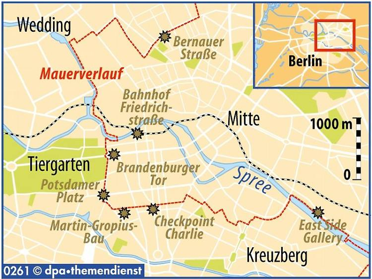 Spurensuche In Berlin Wo Stand Die Mauer N Tv De