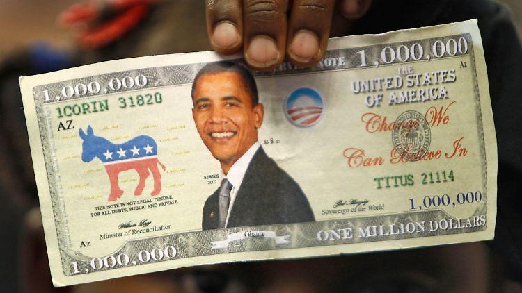 Obama ist einer der erfolgreichsten Spendensammler in der Geschichte des modernen US-Wahlkampfes.
