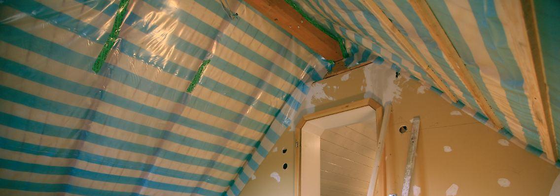 Flachs Oder Glaswolle Das Dach Richtig Dammen N Tv De