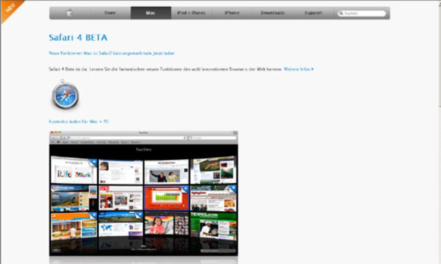 neuen safari browser herunterladen