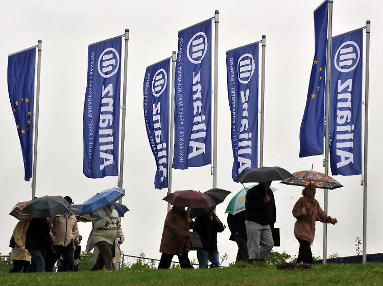 Gekündigte Lebensversicherungen Auch Die Allianz Muss Zahlen N Tvde