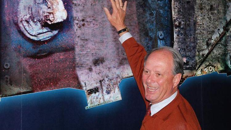 Titanic-Entdecker Robert Ballard in der Ausstellung in Mystic, Connecticut: Der Ozeanograph hat weiterhin viel Spaß an der Wissenschaft.jpg