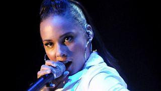 Alicia Keys braucht offenbar viel Platz.