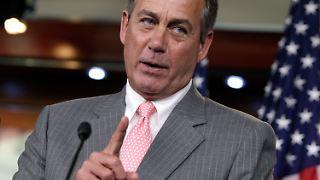 Der Mehrheitsführer im Abgeordnetenhaus, John Boehner.