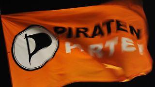 Logo der Piratenpartei. Foto: Angelika Warmuth / Archiv