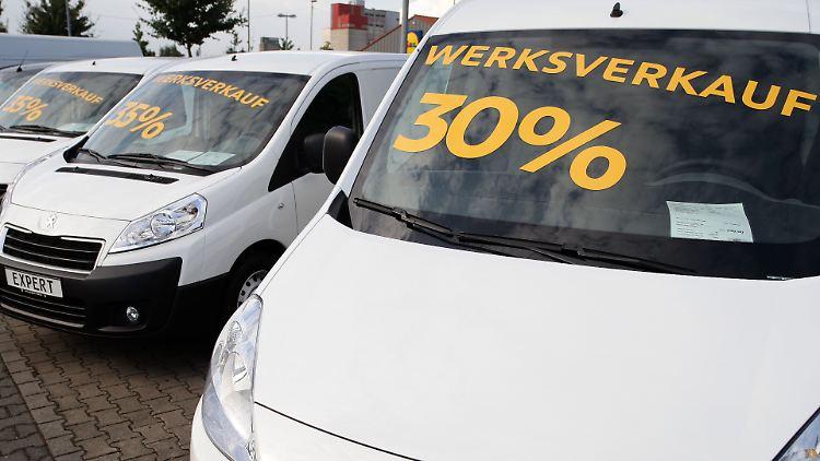 Autos In Deutschland Immer Billiger Rabattschlacht Auf Dem