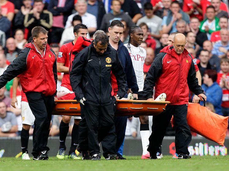 Blutiger Unfall Schockt England Rooney Erlebt Horrorspiel