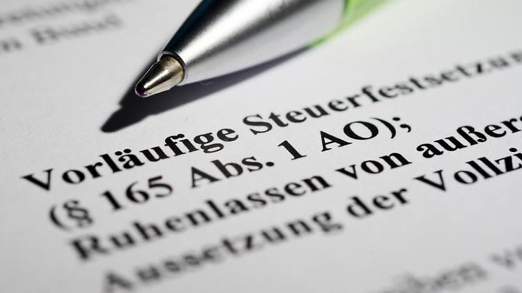 In vielen Punkten ergehen Steuerbescheide automatisch vorläufig - die Liste gibt das Bundesfinanzministerium heraus.