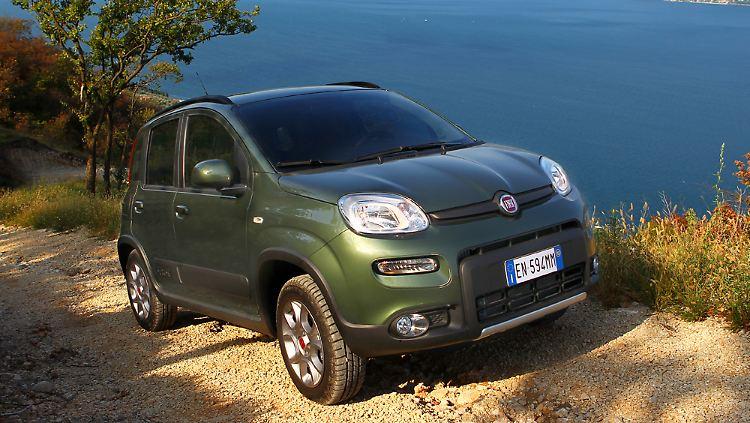 Onwijs Neuer Fiat Panda 4x4: Der kleine Bär lernt klettern - n-tv.de GV-64