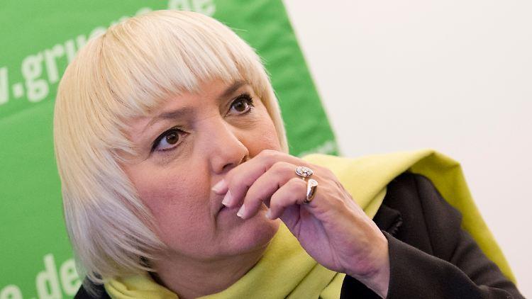 Spitzen Grune Pausiert Mit Wahlkampf Claudia Roth Trauert Um Ihre Mutter N Tv De