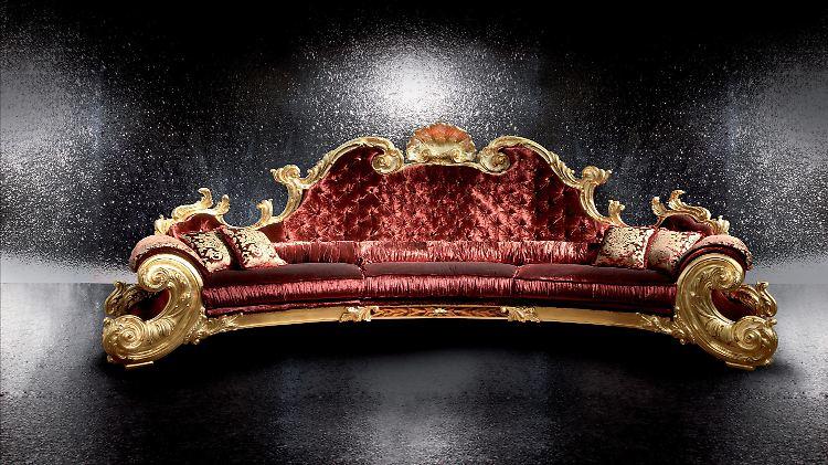 Perlmutt Gold Straußenfedern Jacksons Möbel Unterm Hammer N Tvde