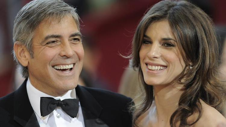 George Clooneys Freundin Elisabetta Canalis fasst Fuß in Hollywood.