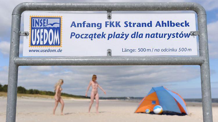 Polen sind gewarnt: Usedom eröffnet FKK-Saison - n-tv.de
