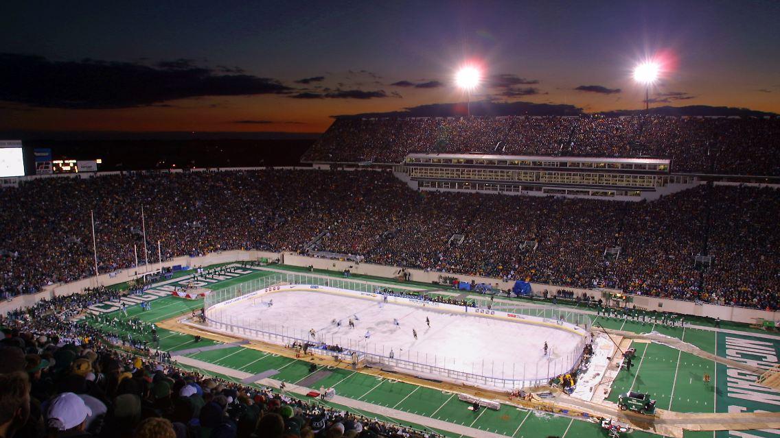 Eishockeyspiel Dauer