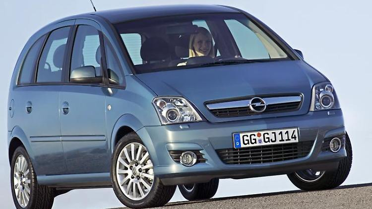 der opel meriva gebraucht gro raum im kleinformat n. Black Bedroom Furniture Sets. Home Design Ideas