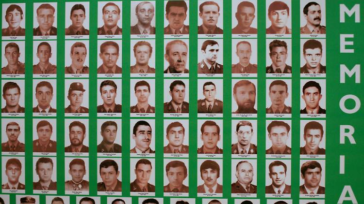 Opfer der ETA. In den letzten vier Jahrzehnten wurden 829 Menschen von der Untergrundorganisation getötet.