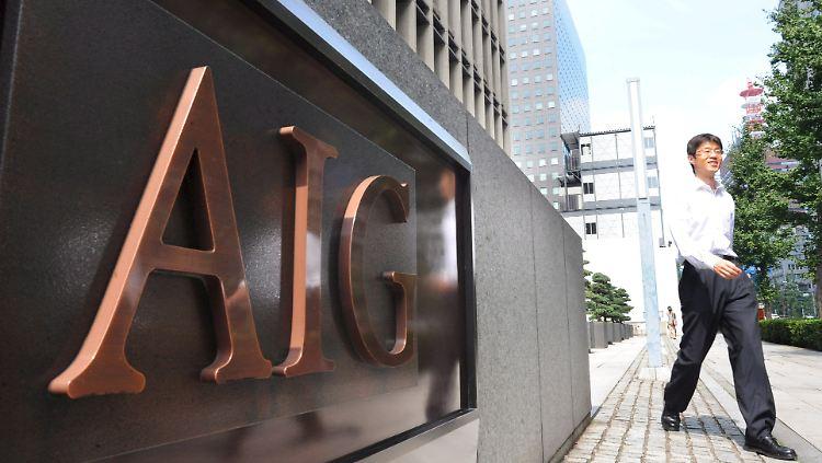 AIG darf wieder ohne Staat.