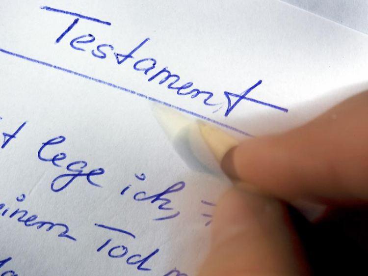 Eigenhandiges Testament Erblasser Muss Selbst Schreiben N Tv De